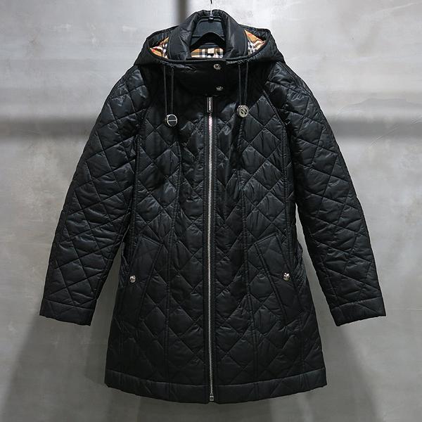 Burberry(버버리) 블랙 컬러 누빔 여성용 퀼팅 패딩 자켓 [인천점]