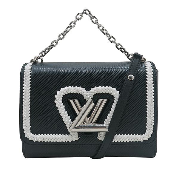 Louis Vuitton(루이비통) M54286 블랙 에삐 레더 트위스트 MM 은장 체인 숄더 겸 크로스백 [인천점] 이미지2 - 고이비토 중고명품