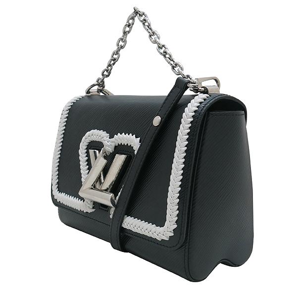 Louis Vuitton(루이비통) M54286 블랙 에삐 레더 트위스트 MM 은장 체인 숄더 겸 크로스백 [인천점] 이미지3 - 고이비토 중고명품
