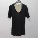 Burberry(버버리) 모달 100% 블랙 컬러 여성용 반팔 티 [대구동성로점]