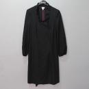 Armani(아르마니) COLLEZIONI(꼴레지오니) 모 혼방 챠콜 컬러 여성용 코트 [대구반월당본점]