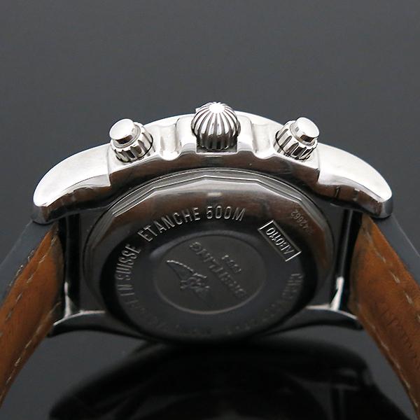 BREITLING(브라이틀링) AB011012/F564/744P 크로노맷 블랙 가죽밴드 남성용 시계 [부산센텀본점] 이미지4 - 고이비토 중고명품