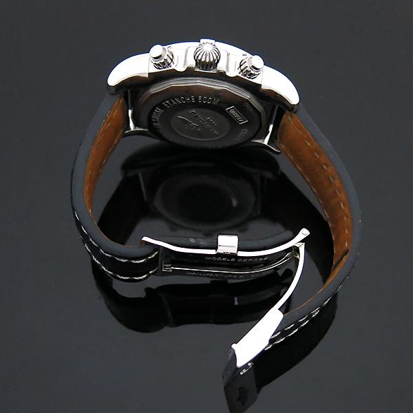 BREITLING(브라이틀링) AB011012/F564/744P 크로노맷 블랙 가죽밴드 남성용 시계 [부산센텀본점] 이미지5 - 고이비토 중고명품