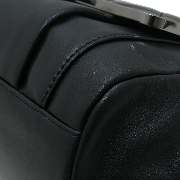Chanel(샤넬) A35773Y02419 블랙 램스킨 레더 아코디언 은장 COCO 퀼팅 플랩 숄더백 [인천점]
