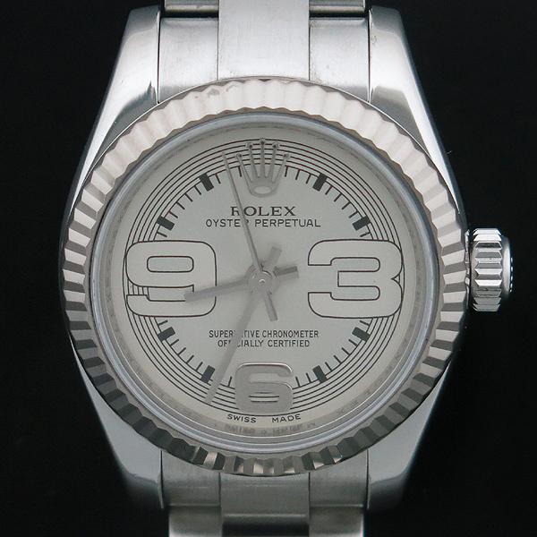 Rolex(로렉스) 176234 OYSTER PERPETUAL(오이스터 퍼페츄얼) Arabian 인덱스 26MM 오이스터 밴드 스틸 오토매틱 여성용 시계 [인천점] 이미지2 - 고이비토 중고명품