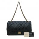 Chanel(샤넬) A37590 빈티지 블랙컬러 2.55 L사이즈 골드메탈 금장로고 체인 플랩 숄더백 [인천점]