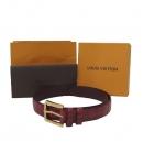 Louis Vuitton(루이비통) P0021U 레드 컬러 크로커다일 스페셜 오더 남성용 벨트 [대구반월당본점]