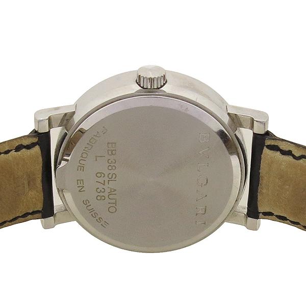 Bvlgari(불가리) BB38SL BVLGARI BVLGARI(불가리 불가리) 오토매틱 DD클립 가죽 밴드 남성용 시계 [강남본점] 이미지5 - 고이비토 중고명품