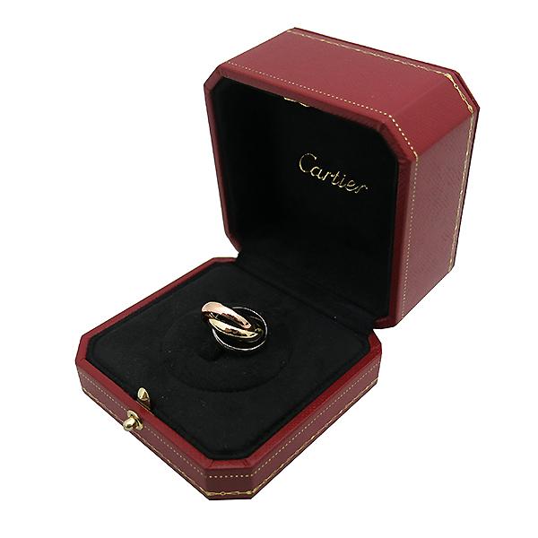 Cartier(까르띠에) B4052744 18K(750) 3색 트리니티 웨딩 밴드 반지 - 4호 [대전본점] 이미지2 - 고이비토 중고명품