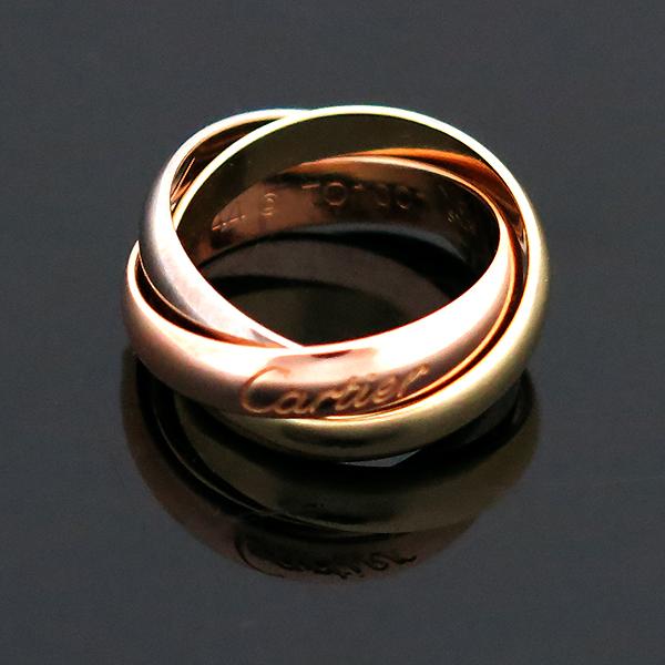 Cartier(까르띠에) B4052744 18K(750) 3색 트리니티 웨딩 밴드 반지 - 4호 [대전본점] 이미지3 - 고이비토 중고명품