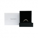Tiffany(티파니) PT950 플래티늄 골드 + 18K 옐로우골드 콤비 밀그레인 3mm 반지 - 18.5호 [부산센텀본점]