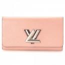 Louis Vuitton(루이비통) M61178 로즈 발레린 에삐 레더 LV 로고 트위스트 월릿 장지갑 [대전시청점]w