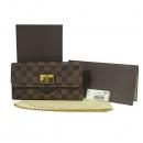 Louis Vuitton(루이비통) N63017 다미에 에벤 캔버스 ROSEBERY(로즈버리) 장지갑 [대구동성로점]