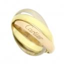 Cartier(까르띠에) B4086153 18K(750) 삼색 골드 트리니티 반지 [강남본점]
