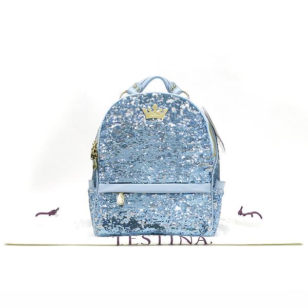 J.ESTINA(제이에스티나) H15SWH25 티아라 로고 장식 스팽글 장식 칼리오페 백팩 [강남본점]