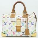 Louis Vuitton(루이비통) M92643 모노그램 멀티컬러 화이트 멀티 스피디 30 토트백 [강남본점]