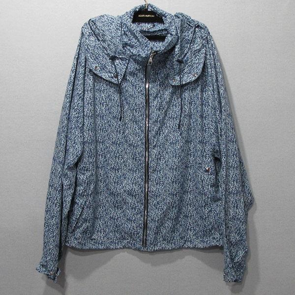 Louis Vuitton(루이비통) 1A04KI 블루 컬러 프린트 블루종 남성용 자켓 [대구반월당본점]