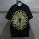 GIVENCHY(지방시) 면 100% 블랙 컬러 만다라 프린팅 남성용 반팔 티셔츠 [인천점]