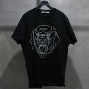 GIVENCHY(지방시) 면 100% 블랙 컬러 로트와일러 프린팅 남성용 반팔 티셔츠 [인천점]