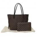 Louis Vuitton(루이비통) N41358 다미에 에벤 캔버스 네버풀 MM 숄더백+보조파우치 [대구반월당본점]