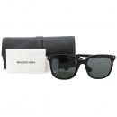Balenciaga(발렌시아가) BA 39-D 측면 로고 장식 블랙 뿔테 선글라스 [대구동성로점]