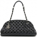 Chanel(샤넬) Chanel(샤넬) A50557 마드모아젤 블랙 페이던트 퀼팅 볼링 숄더백 [강남본점]
