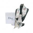 Dior(크리스챤디올) 76MTA106I640 100% 실크 오프화이트 타로카드 트윌 스카프 [부산센텀본점]