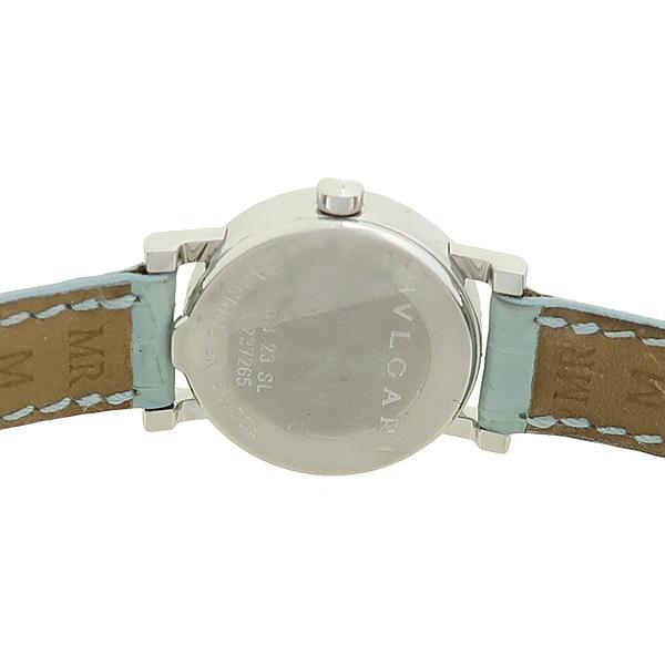 Bvlgari(불가리) BB 23 12포인트 다이아 가죽밴드 여성용 시계 [강남본점] 이미지4 - 고이비토 중고명품