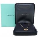 Tiffany(티파니) 18K(750) 1포인트 다이아 하트 클로버 펜던트 목걸이 [강남본점]
