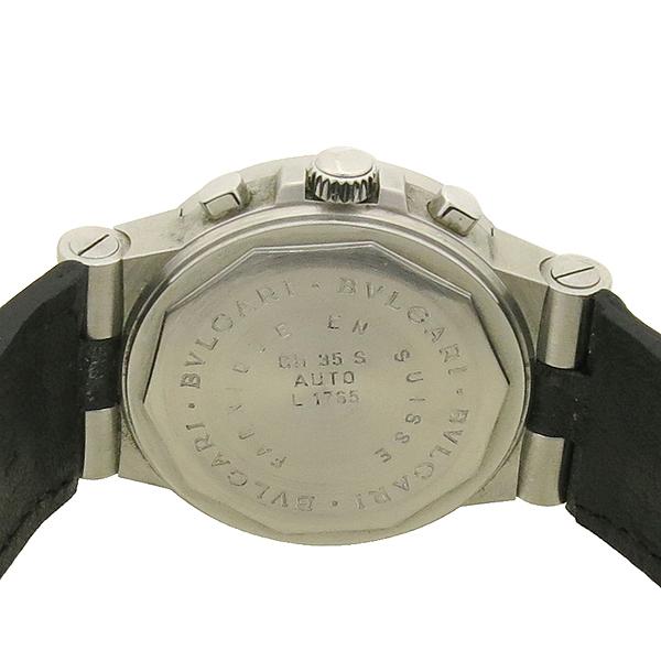 Bvlgari(불가리) CH35S DIAGONO(디아고노) 크로노 오토매틱 남성용 가죽밴드 시계 [강남본점] 이미지5 - 고이비토 중고명품