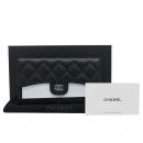 Chanel(샤넬) A31506Y01864 블랙 캐비어스킨 금장 로고 클래식 장지갑 [인천점]