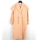 Chanel(샤넬) P58414V44235 100% 코튼 핑크 컬러 여성용 롱 자켓 [강남본점]