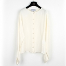 Chanel(샤넬) P57655V09928 100% 실크 화이트 컬러 여성용 브라우스 셔츠 [강남본점]