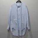 Balenciaga(발렌시아가) 스카이 블루 컬러 페인트 로고 위타이 롱셔츠 [대구반월당본점]