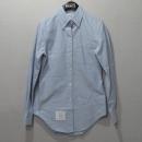 THOM BROWNE(톰브라운) RN133280 스카이 블루 컬러 면 100% 옥스포드 셔츠 [대구반월당본점]