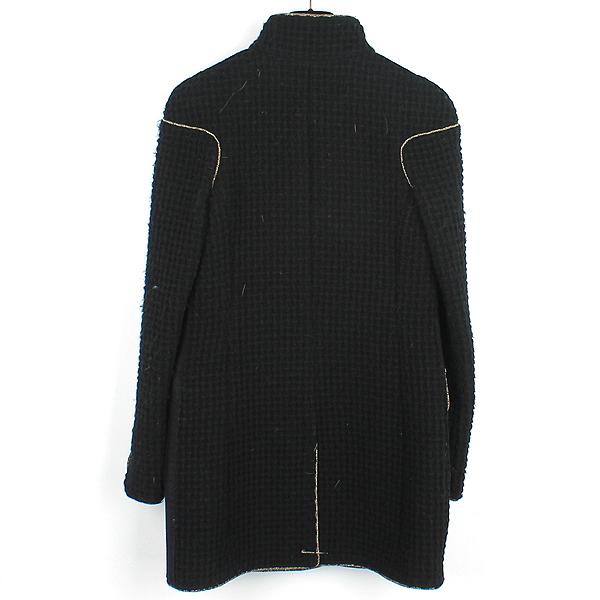 Chanel(샤넬) P51893W05664 100% 울 블랙 어라운드 퀼팅 장식 여성용 코트 [강남본점] 이미지3 - 고이비토 중고명품