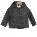 Burberry(버버리) 4557728 블랙 컬러 퀼팅 패턴 아동용 패딩 [강남본점]