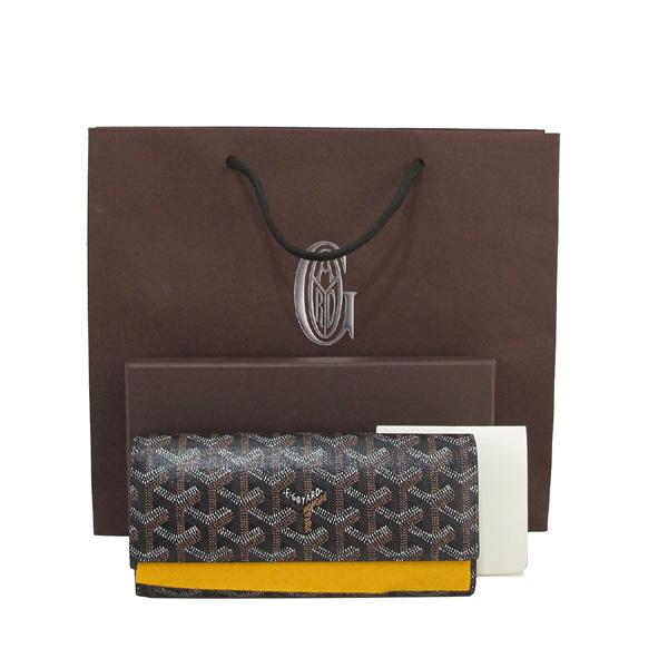 GOYARD(고야드) APM VARENNE 10 블랙 브라운 컬러 장지갑 [대구반월당본점]