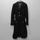 Armani(아르마니) 블랙 컬러 여성용 코트 [대구반월당본점]