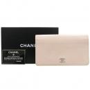 Chanel(샤넬) COCO로고 장식 캐비어스킨 장지갑 [강남본점]