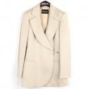 Emporio Armani(엠포리오 아르마니) 캐시미어 100% 베이지 컬러 여성용 코트 [강남본점]