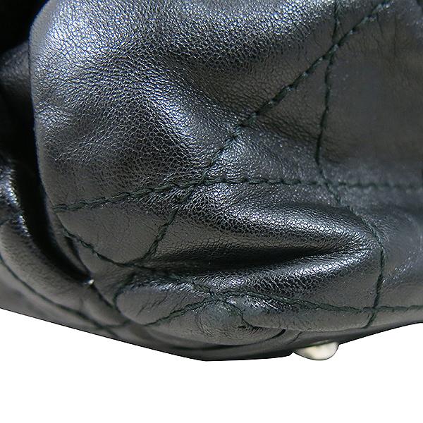Dior(크리스챤디올) M0104PGCA M900 램스킨 블랙 까나쥬 르트렁 복조리 은장로고 체인 숄더백 [대구동성로점] 이미지5 - 고이비토 중고명품