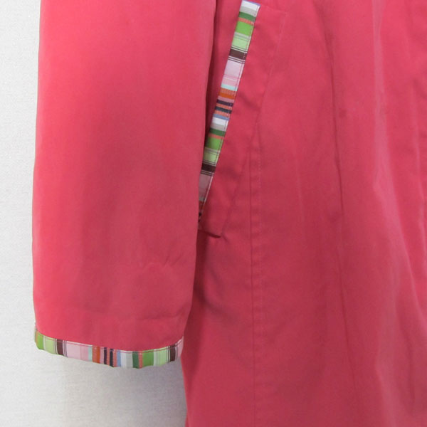 Etro(에트로) 핑크 컬러 여성용 롱 자켓 [대구반월당본점] 이미지4 - 고이비토 중고명품