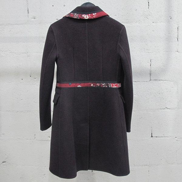 Burberry(버버리) 프로섬 4533048 울 100% 프린팅 카라 장식 여성용 코트 [동대문점] 이미지3 - 고이비토 중고명품