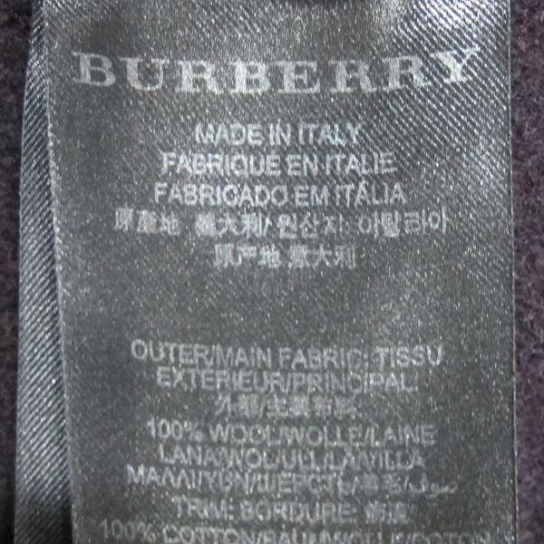 Burberry(버버리) 프로섬 4533048 울 100% 프린팅 카라 장식 여성용 코트 [동대문점] 이미지4 - 고이비토 중고명품