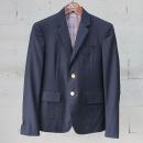 THOM BROWNE(톰브라운) MJC159A 울 100% 네이비 컬러 남성용 자켓 [동대문점]