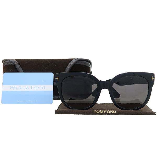 TOMFORD(톰포드) TF9352 블랙 컬러 측면 금장 로고 장식 뿔테 선글라스 [대구반월당본점]