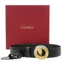 Cartier(까르띠에) 삼색 트리니티 버클 양면 여성용 벨트 [강남본점]