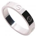 Cartier(까르띠에) B4085160 18K(750) 화이트골드 미니 러브링 반지 - 20호 [대전시청점]