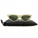 Celine(셀린느) CL40019I 화이트 컬러 뿔테 선글라스 [강남본점]